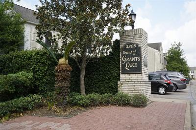 Sugar Land Condo/Townhouse For Sale: 2808 Grants Lake Boulevard #405