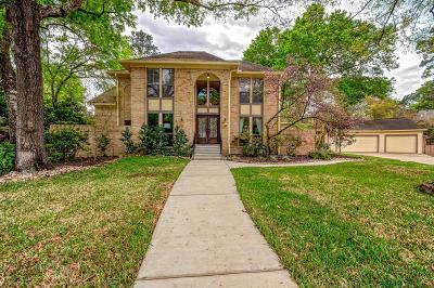 Kingwood Single Family Home For Sale: 1919 Pleasant Creek Drive