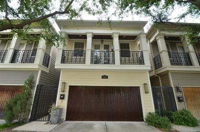 Houston Single Family Home For Sale: 1321 Lawrence Street
