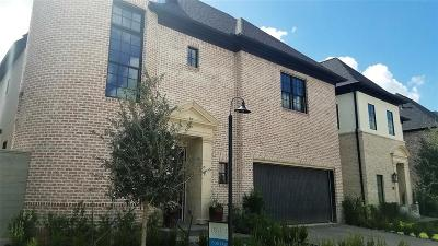 Bellaire Single Family Home For Sale: 5405 Alder Circle