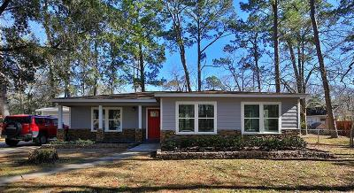 Dickinson Single Family Home For Sale: 3715 S Bayou Circle