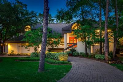 The Woodlands TX Single Family Home For Sale: $1,675,000