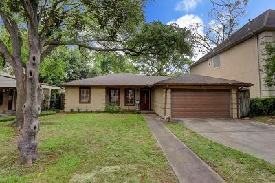 Houston TX Single Family Home For Sale: $750,000