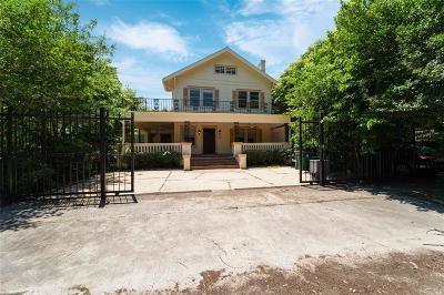 Houston Single Family Home For Sale: 803 Marshall Street