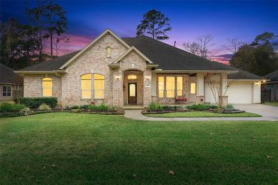 Montgomery County Single Family Home For Sale: 34207 Conroe Huffsmith Road