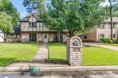 Houston Single Family Home For Sale: 1522 Big Horn Drive