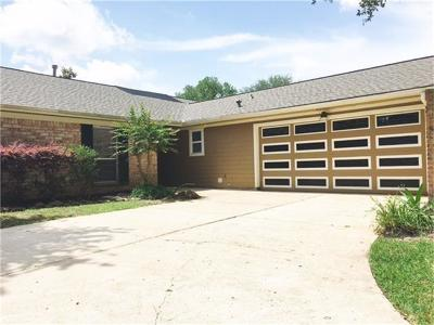 Single Family Home For Sale: 15623 Rolling Timbers Drive
