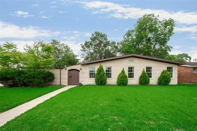Houston Single Family Home For Sale: 5003 Lymbar Drive