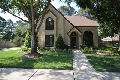 Tomball Single Family Home For Sale: 12402 Newpark Drive