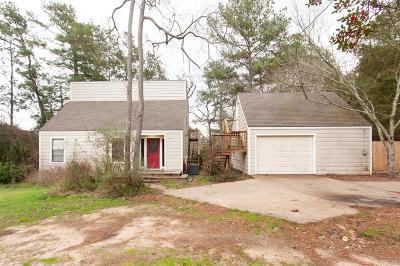 Waller County Single Family Home Option Pending: 29130 W Lake Drive