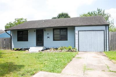 Pasadena Single Family Home For Sale: 434 Trichelle Street