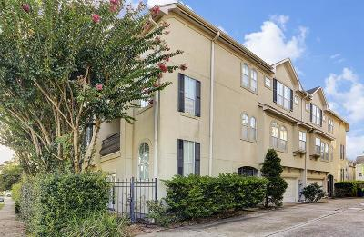 Houston Condo/Townhouse For Sale: 4502 Rose Street