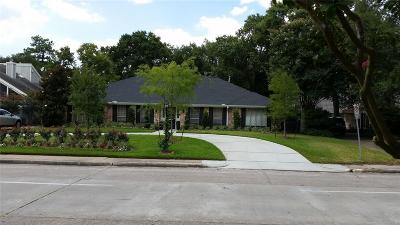 Briargrove Park Single Family Home For Sale: 10118 W Briar Forest Drive W