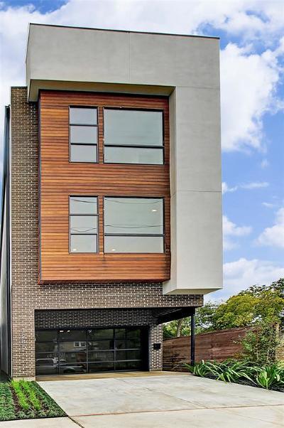 Houston Single Family Home For Sale: 1243 Peden Street