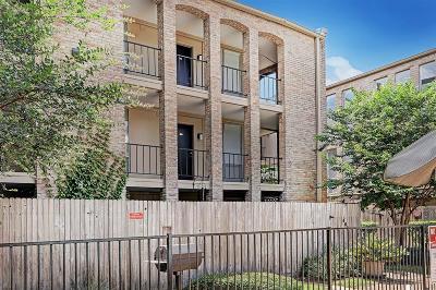 Houston Condo/Townhouse For Sale: 4643 Wild Indigo Street #24/409