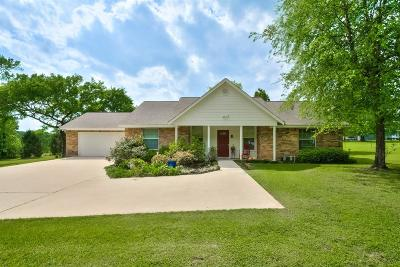 Willis Single Family Home For Sale: 13625 African Hill Road