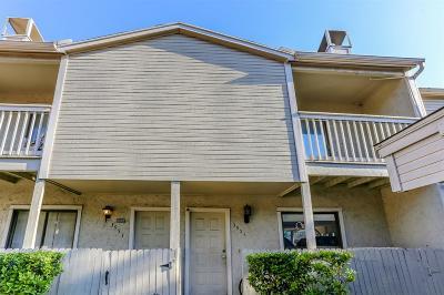 Houston Condo/Townhouse For Sale: 3951 Tanglewilde Street