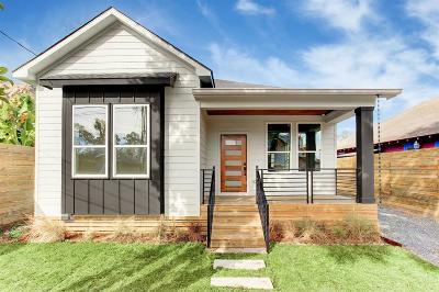 Houston Single Family Home For Sale: 1219 Lee Street