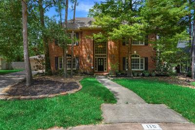 The Woodlands Single Family Home For Sale: 110 Winding Creek Place