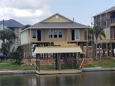 Galveston Single Family Home For Sale: 4230 Santiago Circle