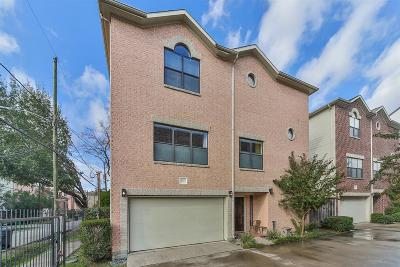 Houston Condo/Townhouse For Sale: 5810 Darling Street #F