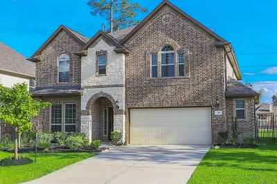 Tomball Single Family Home For Sale: 71 Wading Pond Circle