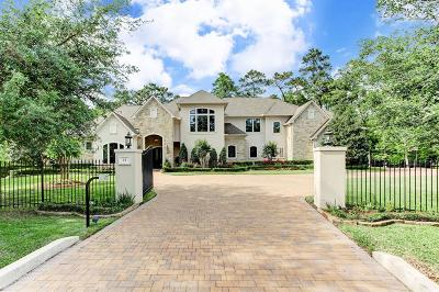The Woodlands TX Single Family Home For Sale: $2,499,000