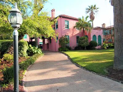 Galveston Single Family Home For Sale: 1616 Broadway Street
