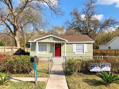Houston Single Family Home For Sale: 5610 Brackenridge Street