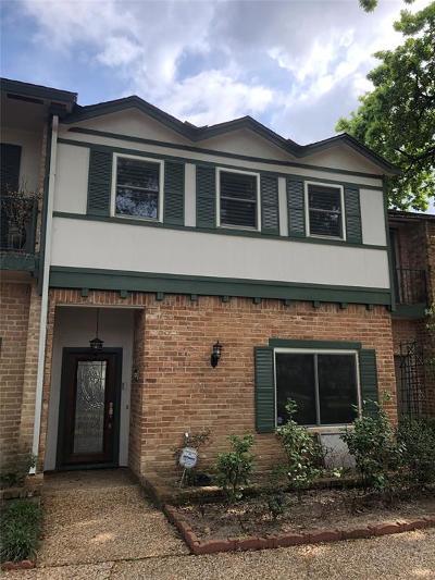 Harris County Condo/Townhouse For Sale: 626 N Eldridge Parkway #13