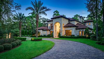 The Woodlands TX Single Family Home For Sale: $4,987,500