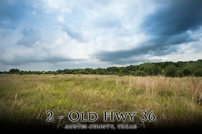 Bellville Farm & Ranch For Sale: 2 Old Hwy 36