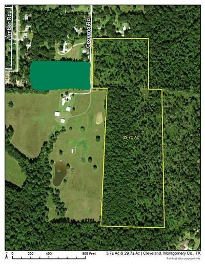 Montgomery County Farm & Ranch For Sale: 0000 Crossno