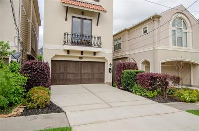 Houston Single Family Home For Sale: 6110 Clyde Street
