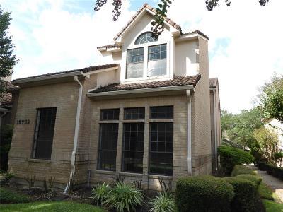 Houston Single Family Home For Sale: 15759 Tanya Circle