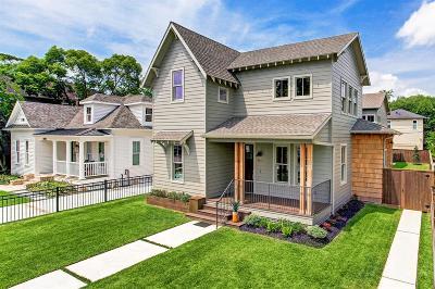 Houston Single Family Home For Sale: 1823 Arlington Street