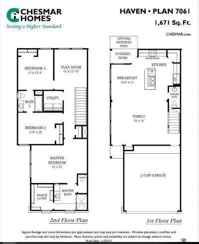 Fulshear Condo/Townhouse For Sale: 5547 Purple Meadow Lane