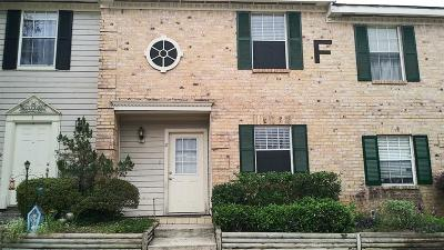 Conroe Condo/Townhouse For Sale: 2030 Plantation #F2