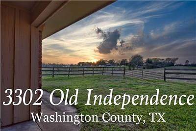 Washington County Single Family Home For Sale: 3302 Old Independence Road