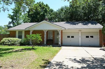 Friendswood Single Family Home For Sale: 802 Camelot Lane