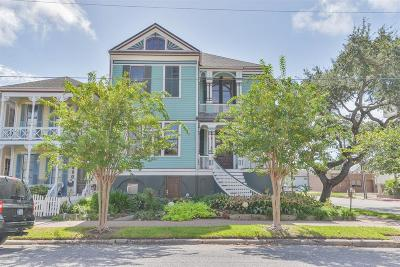 Galveston Single Family Home For Sale: 1827 Ball Street