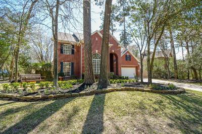 The Woodlands Single Family Home For Sale: 70 N Bluff Creek Circle