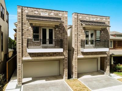 Houston Single Family Home For Sale: 602 W Pierce Street