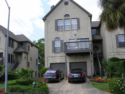 Houston TX Condo/Townhouse For Sale: $245,000