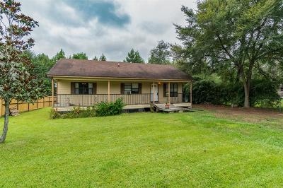 Magnolia Single Family Home For Sale: 26448 Easy Street