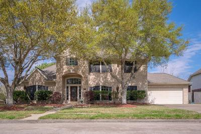 Friendswood Single Family Home For Sale: 1314 Cambridge Drive