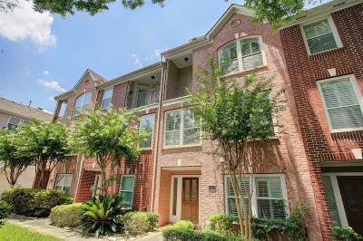 Houston Condo/Townhouse For Sale: 1001 Van Buren Street