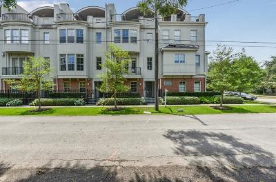 Houston Condo/Townhouse For Sale: 1602 Oakdale Street