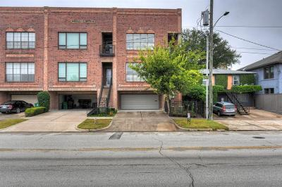 Houston Condo/Townhouse For Sale: 1320 Taft Street