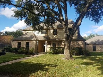 Houston Single Family Home For Sale: 803 Walkwood Court